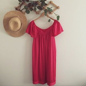 SALE 4/$15 VINTAGE red nightgown